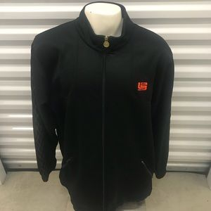 Vintage Nike Lebron James 23 Black Track Jacket